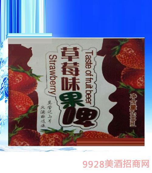 草莓味果啤