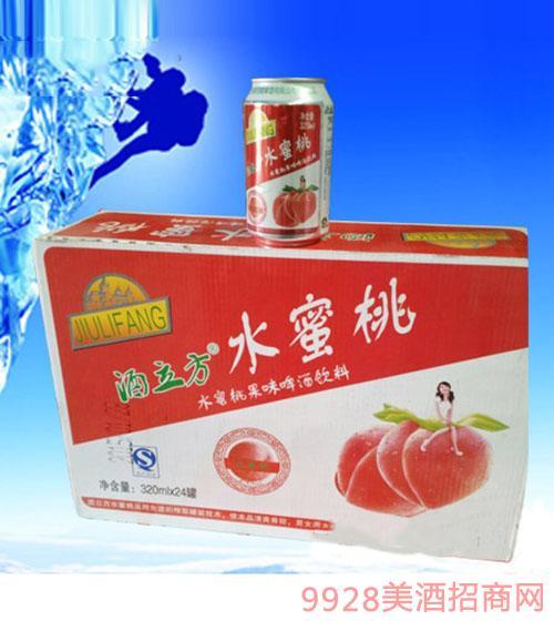 水蜜桃果啤320ML