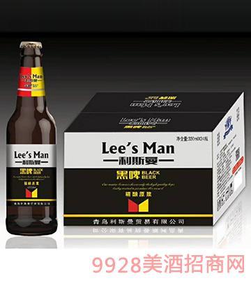 利斯曼啤酒黑啤330mlx24