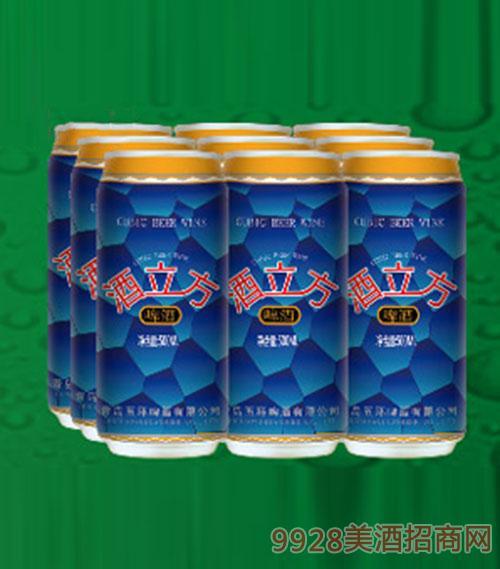酒立方啤酒10°500ml×9