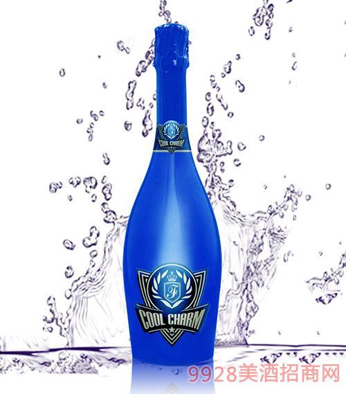 酷魅起泡酒玫瑰香口味��包�b瓶