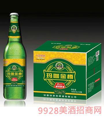 玛咖金樽啤酒500mlx12