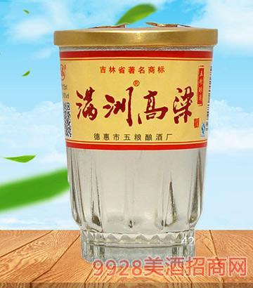 满洲高粱酒42度125ml×40杯