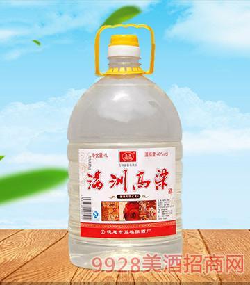 满洲高粱酒40度4L×4桶