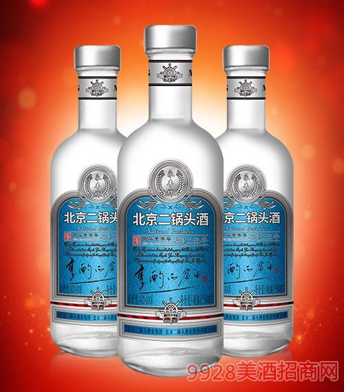 北京二锅头享酌品鉴酒(蓝标)42度500ml
