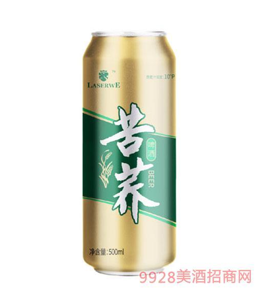 澜圣威苦荞啤酒500ml(罐装)