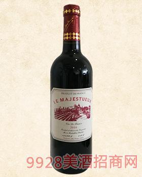 法国餐桌干红曼喜葡萄酒