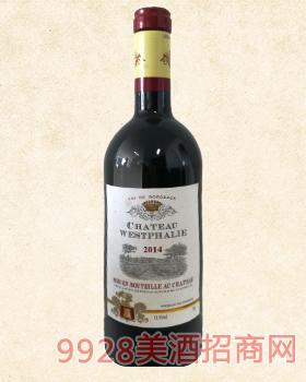 法国维特城堡干红葡萄酒