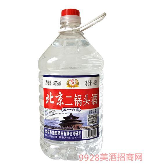 京硕北京二锅头50度4.5L