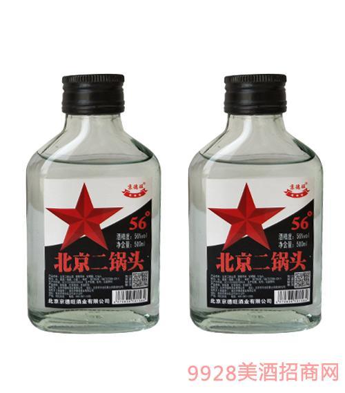 京德旺北京二��^(白瓶)56度500ml