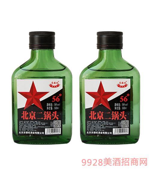 京德旺北京二锅头(绿瓶)56度500ml