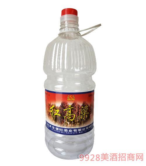 京硕红高粱酒52度4L
