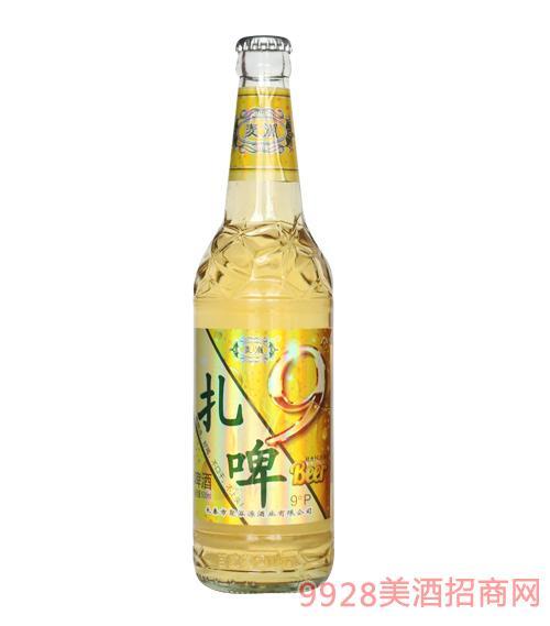 ��潮扎啤(白瓶)9°P500ml