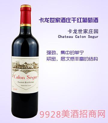 卡龙世家酒庄干红葡萄酒