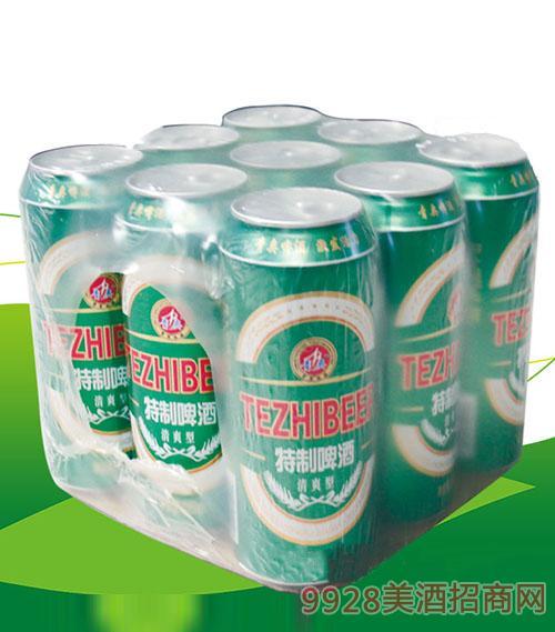 青奥特制啤酒500mlX9罐
