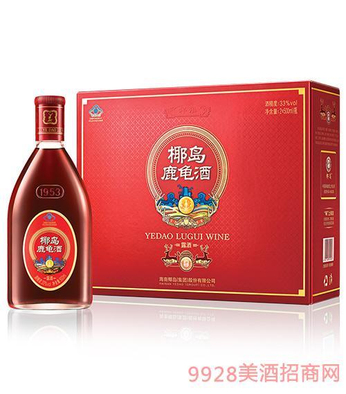 椰岛鹿龟酒祥福(礼盒装)500ml