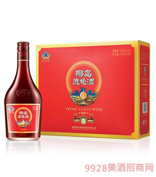 椰岛鹿龟酒清福(纪念装)500ml