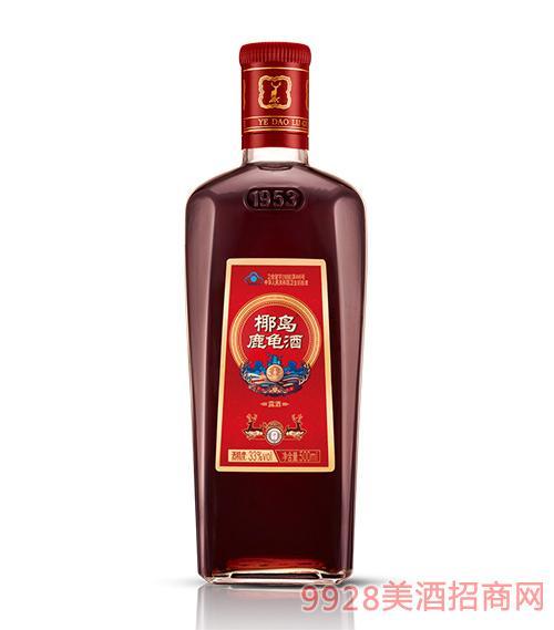 椰岛鹿龟酒500ml