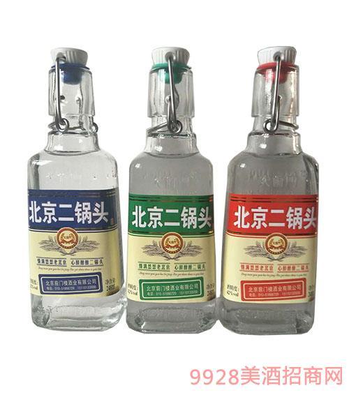 大前门北京二锅头酒42度248ml