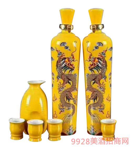 坛子酒黄瓶