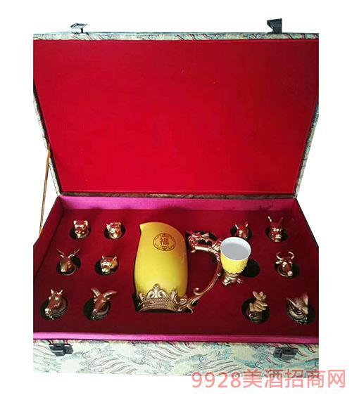 十二生肖礼盒装酒