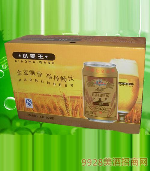澳德旺ADW007 330ml小麦王易拉罐啤酒