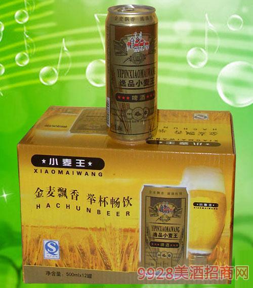 澳德旺ADW008 500ml逸品小麦王易拉罐啤酒