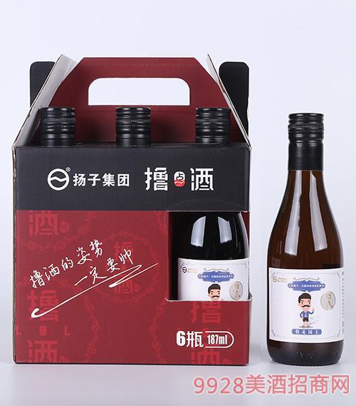 扬子集团撸点国王酒187mlx6