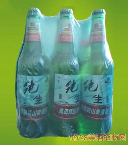 红尊纯生啤酒塑包