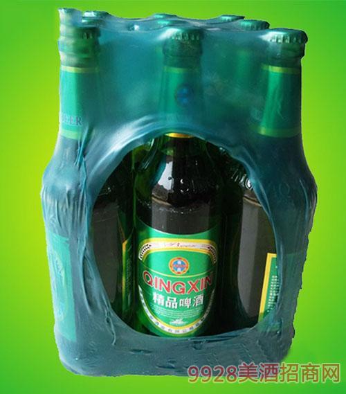 崂山泉啤酒500ml精品啤酒塑包1X9