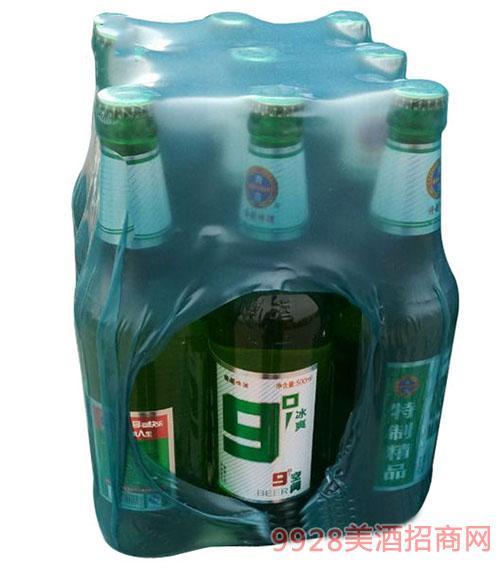崂山泉啤酒500ml九度空间