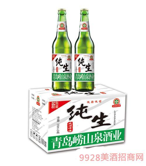 崂山泉纯生啤酒