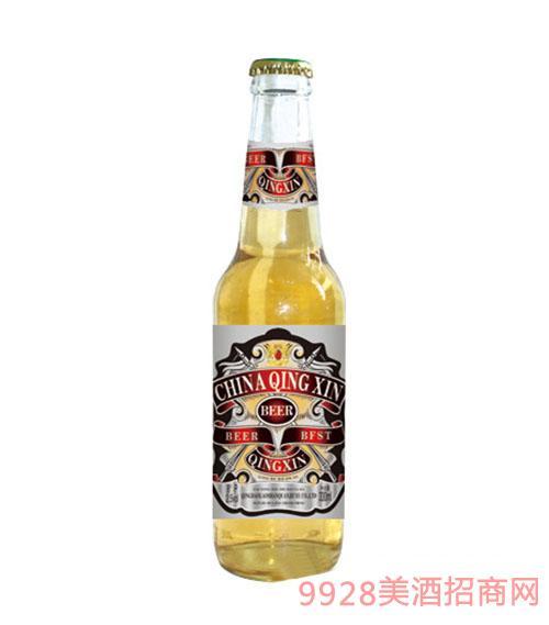 崂山泉啤酒330ml黄啤