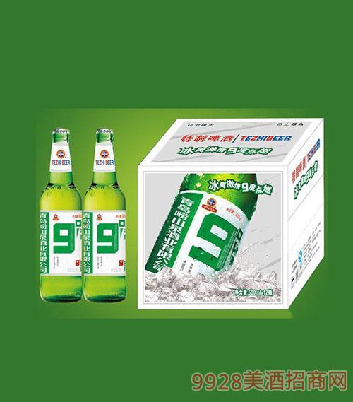 500ml白箱九度啤酒