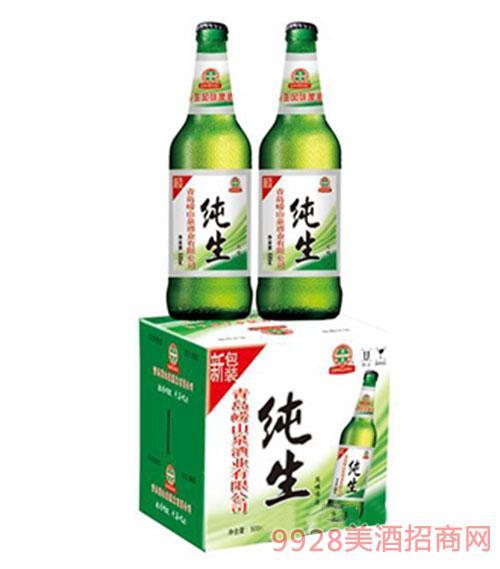 崂山泉纯生风味啤酒