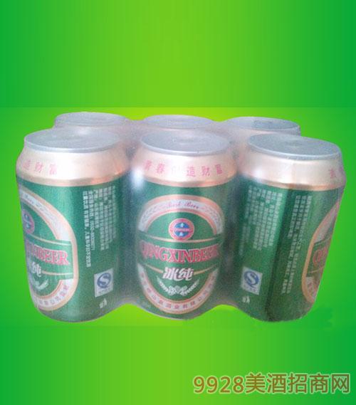 冰纯啤酒330ml六连包
