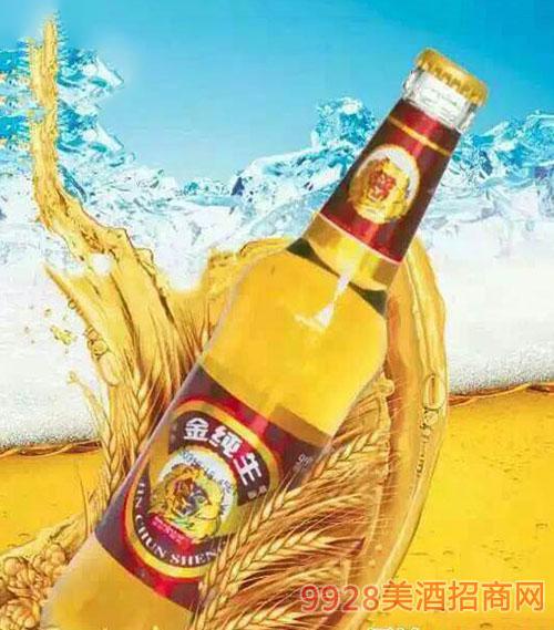 皇族金纯生啤酒