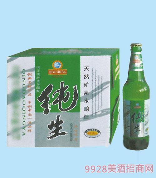 皇族纯生啤酒500ML(绿瓶)