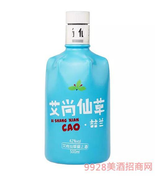 艾尚仙草喆兰系列酒42度500ml