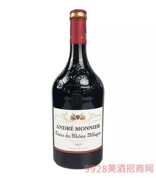 安莫妮罗纳河谷村庄干红葡萄酒