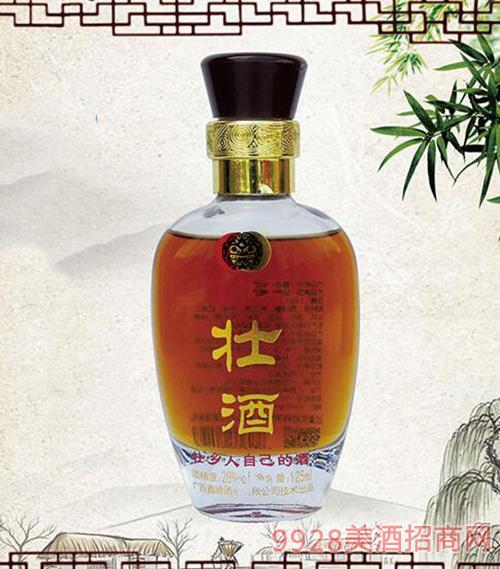 鑫壮王酒小壮28度125ml