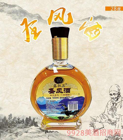 鑫壮王圣风酒28度500ml