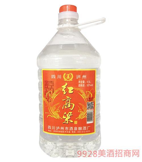 红高粱酒52度4.5L