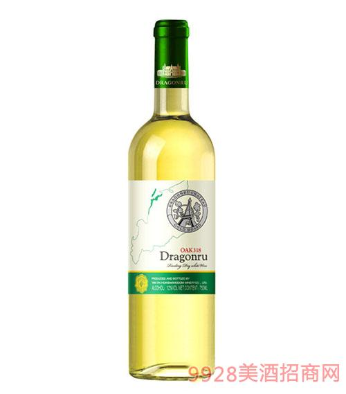 dragonru家族牌OAK318雷司 令干白葡萄酒