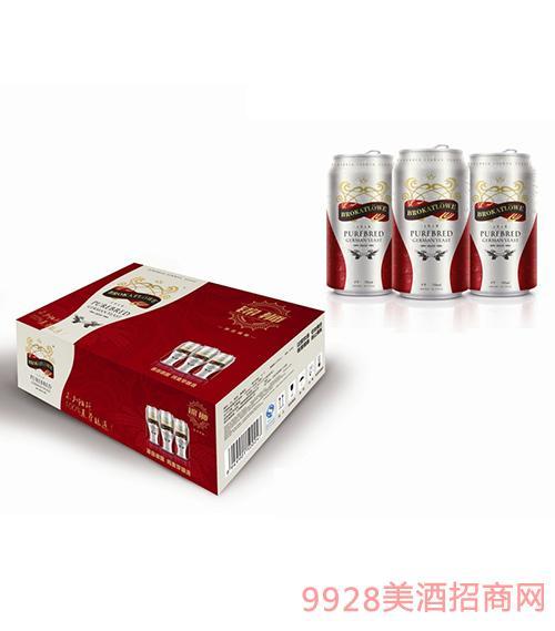德国锦狮纯麦芽啤酒330MLx24罐