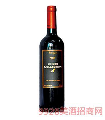安帝斯精选珍藏美乐干红葡萄酒