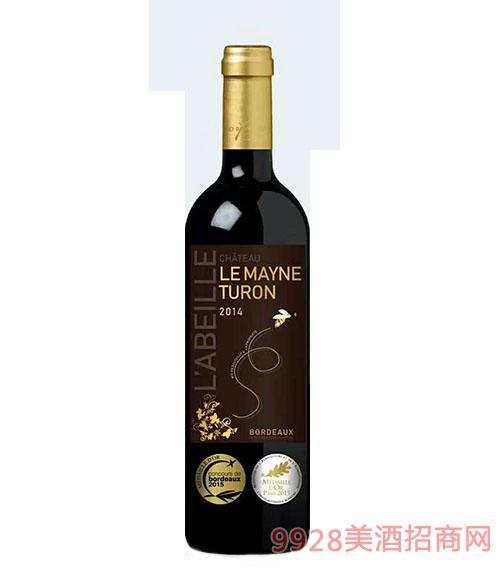 梅恩图隆城堡干红葡萄酒13.5度750ml