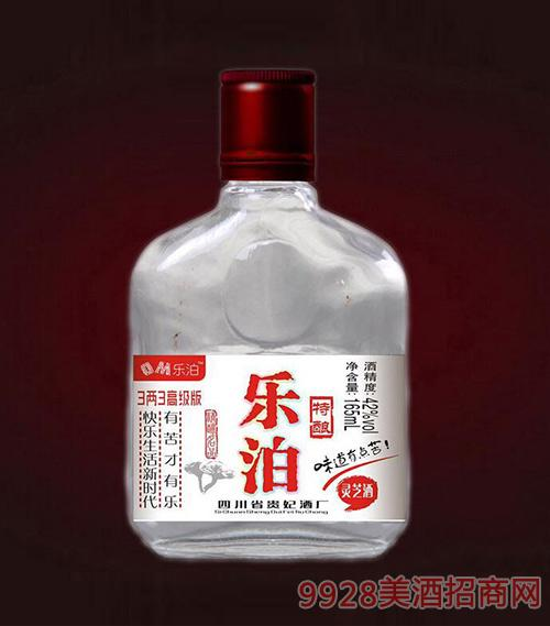 乐泊特酿灵芝酒三两三高级版42度165ml
