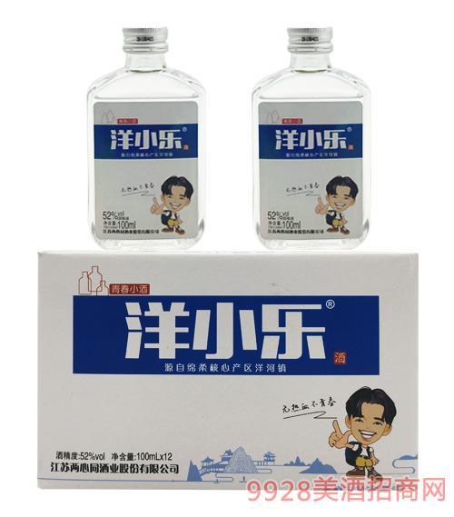 洋小白酒52度100mlx12
