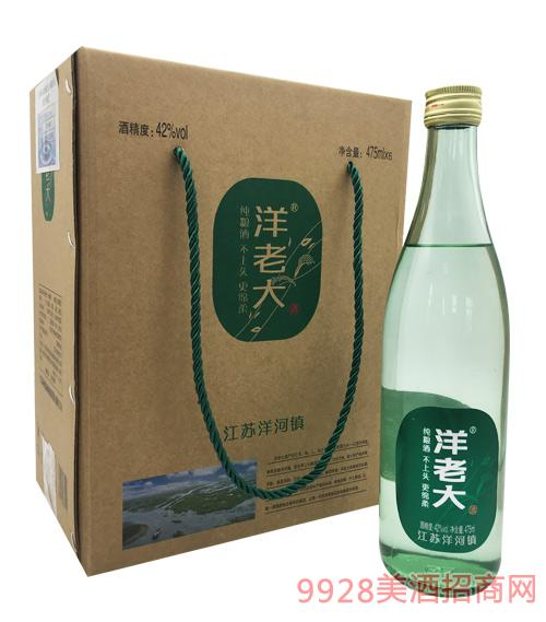 洋老大酒(箱)42度475ml